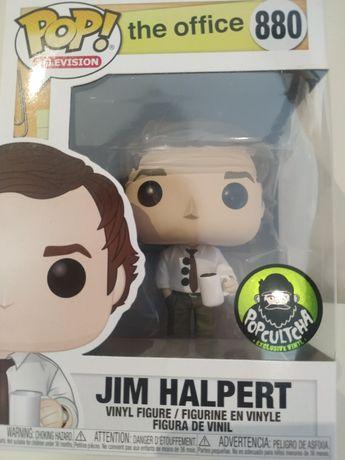 Jim Halpert 3 hole punch funko pop #880 the office