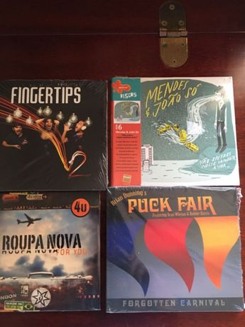 4 CD de música varia embalagem selada