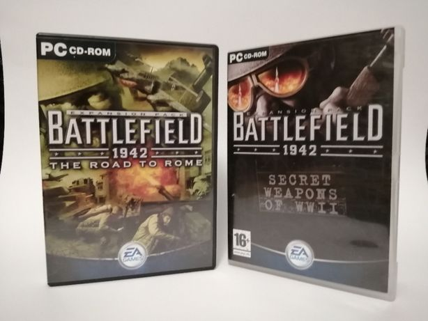 Battlefield 1942 The road to Rome e Secret weapons of WWII PC Expansão