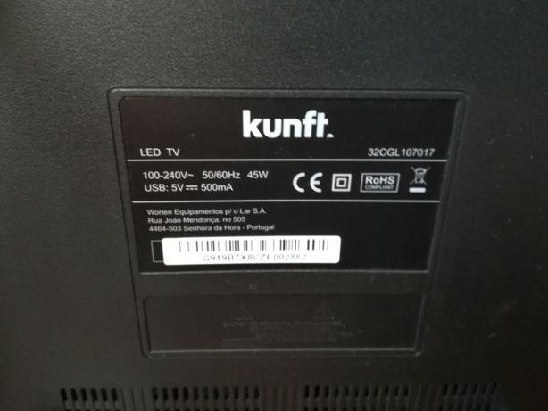 Chassi (carcaça) Tv lcd Led Kunft 32CGL107017