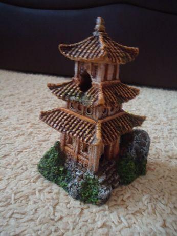 Chińska Świątynia ZEN ozdoba akwarystyczna