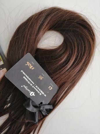 Okazja Gwarancja! Włosy słowiańskie naturalne dziewicze 61 cm z 1805