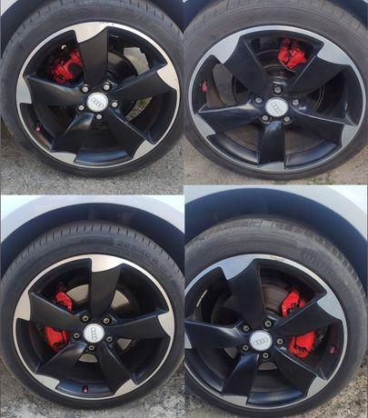 Alufelgi Rotory 18 5x112 Oryginał Audi