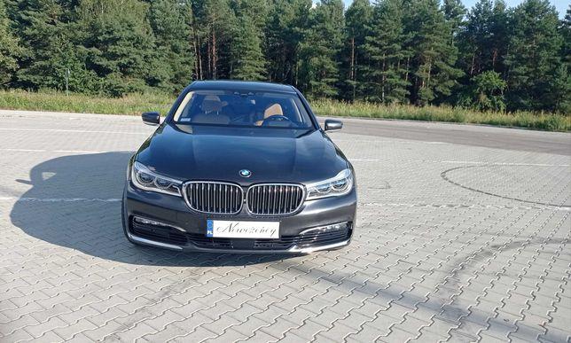 Auto do ślubu BMW Serii 7  Wersja LONG 2016r!