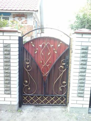 Ворота секционные, гаражные, откатные.