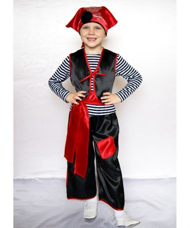 Детский карнавальный новогодний костюм Пират ( мальчик )