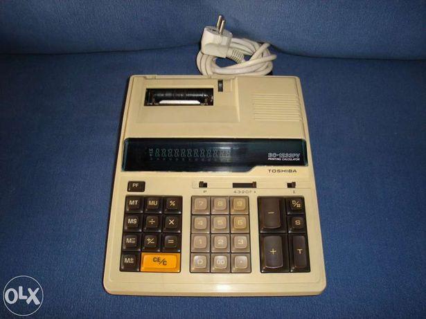Máquina de calcular eletrónica Toshiba BC-1233PV