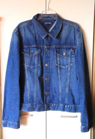 Tommy Hilfiger jeansowa kurtka koszula meska xl jeans lee levis gucci