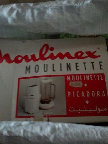 Picadora Moulinex 1,2,3 + Triturador/Máq.de sumos e batidos DETOX
