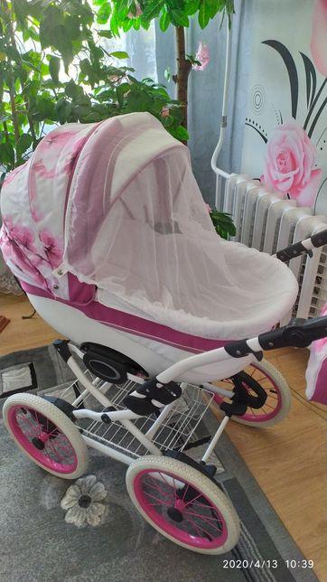 СРОЧНО! коляска Ангелина Фреш 2в1 + подарок!