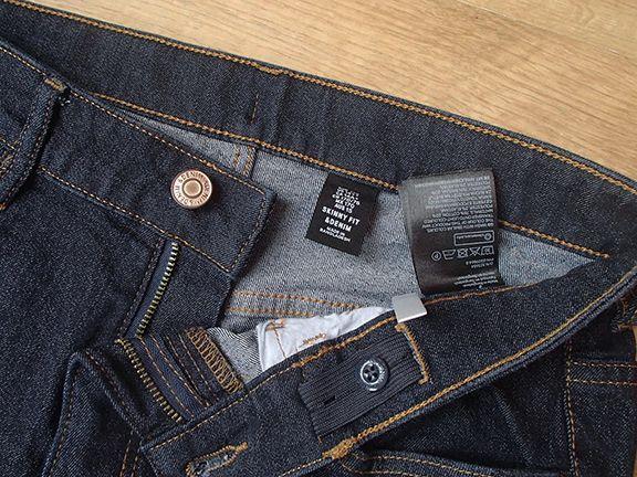 spodnie dżinsy C&A jeans 170 skinny fit 14 lat jak NOWE