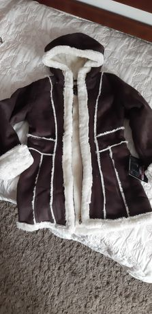 Продам удлененную куртку для девочки