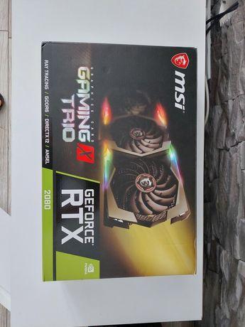 Sprzedam Msi Geforce RTX 2080 gwarancja