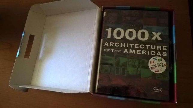 1000x Architecture of the Americas by Michelle (editor) Galindo (Box