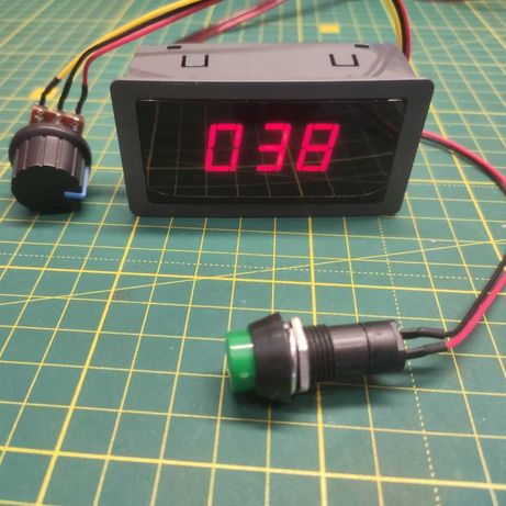 ШИМ регулятор оборотов с дисплеем 6 - 30 вольт 8 ампер