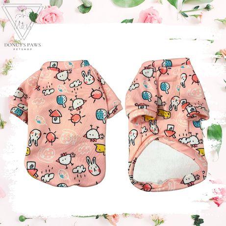 Bluza dla psa Soft Chic różowa rozm L