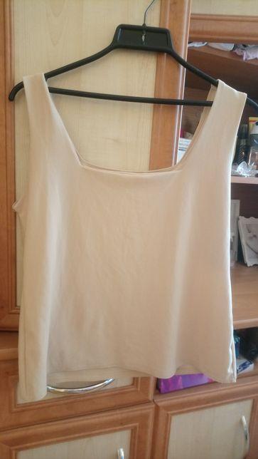 Beżowa bluzka L/XL