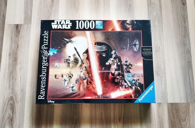 Ravensburger 1000 el. puzzle Star Wars Przebudzenie mocy