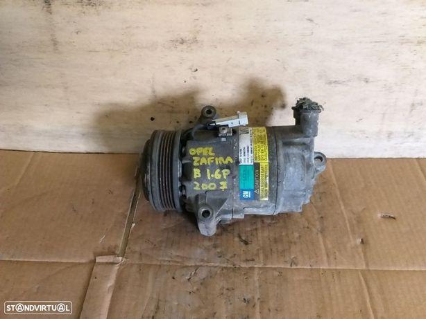 Compressor ar condicionado Opel Zafira B 1.6 Gasolina 2006 -13124750