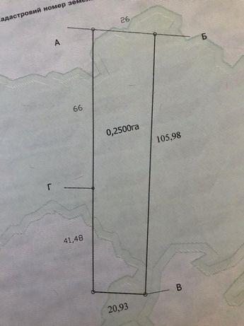 Продам земельный участок 25 сот, с. Закотное