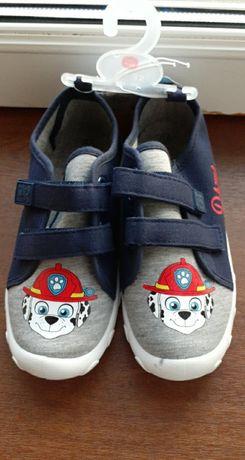 Buty tenisowki trampki Psi Patrol nowe