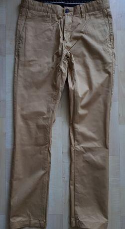 Spodnie męskie Slim fit JARVIS TROUSERS BLACK rozmiar 30 miodowe