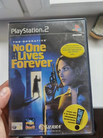 No One Lives Forever NOLF ps2 PlayStation 2
