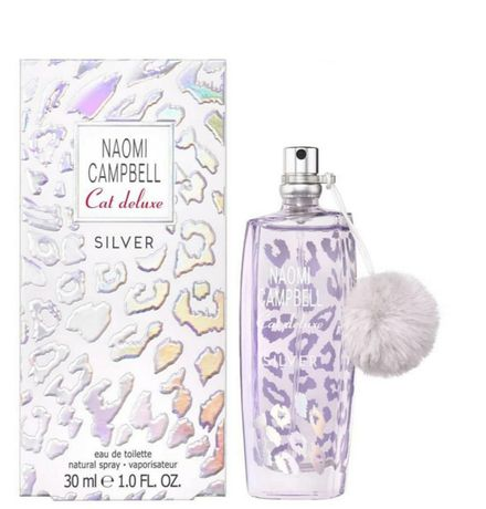 Naomi Campbell cat deluxe silver