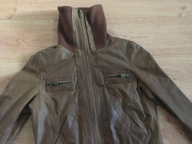 Кожаный бомбер, куртка New Look