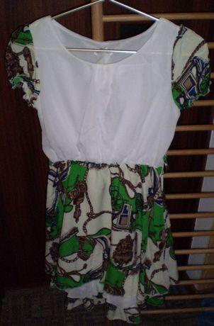 Продам легкое летнее шифоновое платье