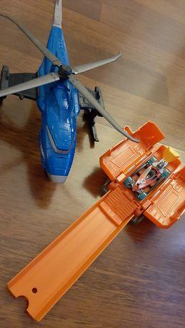 Helikopter Hot Wheels SWAT kontener