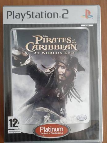 Jogo Piratas das Caraíbas nos Confins do Mundo PS2