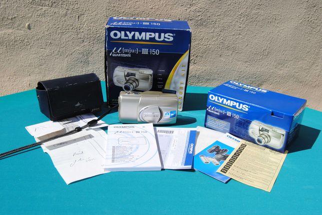 Olympus µ Mju III 150 Quartzadate 35mm Point & Shoot