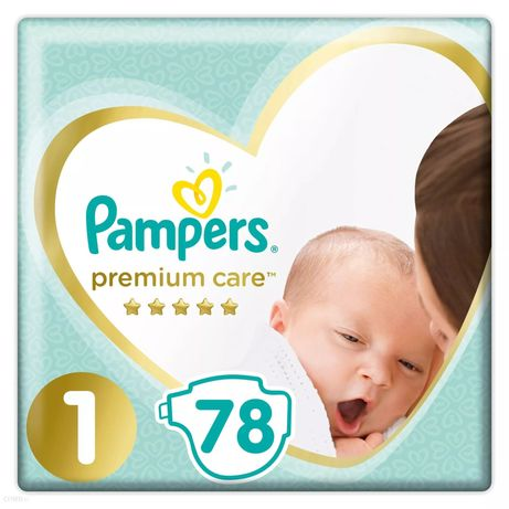 Pampers 1, 78 szt