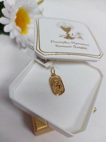Złoty medalik złoto 585