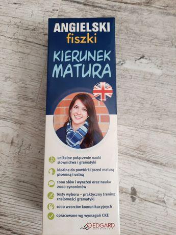 Angielski fiszki kierunek matura poziom podstawowy