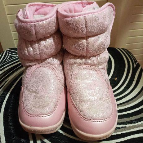 Зимові чоботи для дівчинки, дутики Том.