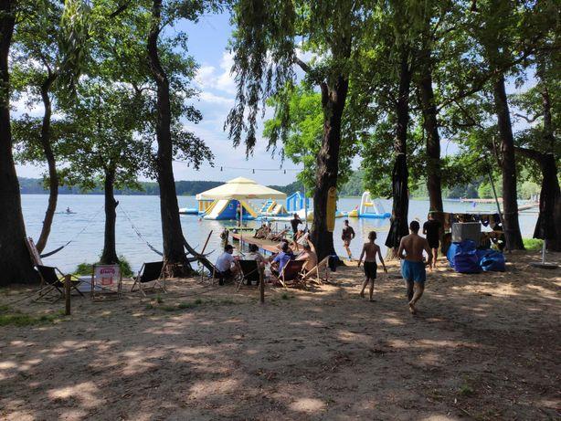 Domek , nad jeziorem , las , plaża wolne terminy od 16 sierpnia