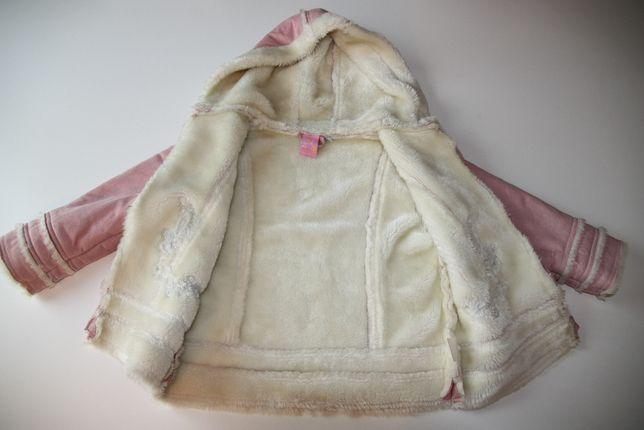 Kurtka wiosenna kożuszek roz.110 Zip Zap st. bdb+ za 1/3 ceny
