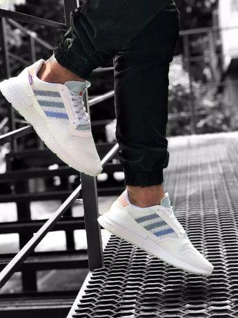 Кроссовки Adidas ZX 500 RM White/ Качество 1в1 Оригинал ААА+ 36-45