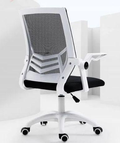 NOWY Obrotowy FOTEL Biurowy Krzesło z Siatki Na Kołkach Możliwa Wysyłk