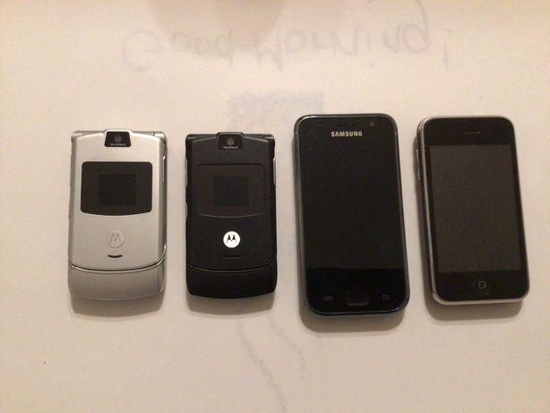 Vintage telemóveis