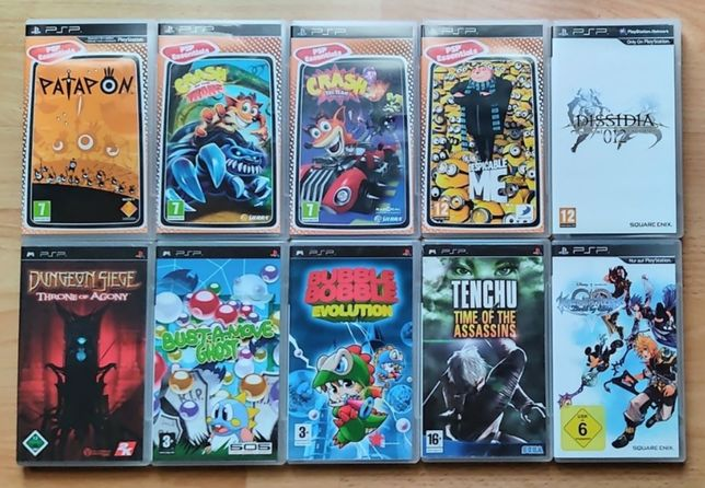 PlayStation Portable! Crash, Patapon, Minionki, Dungeon Siege itd! PSP