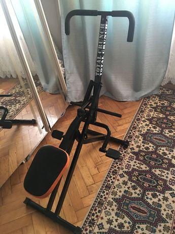 Urządzenie do treningu brzucha i pleców total crunch