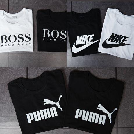 MEGA WYPRZEDAŻ koszulek koszulki damskie męskie Boss Tommy Nike