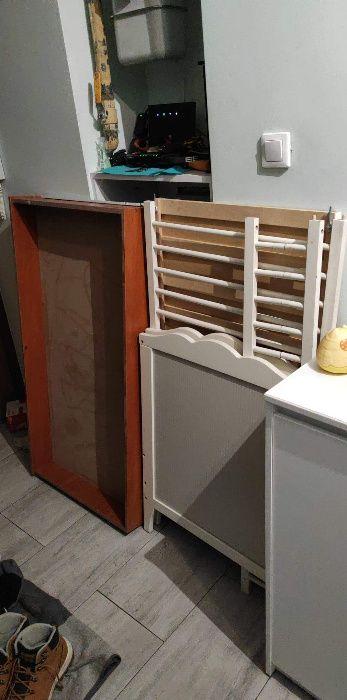 Łóżeczko białe IKEA 120x60 może być dostawne Szczecin - image 1