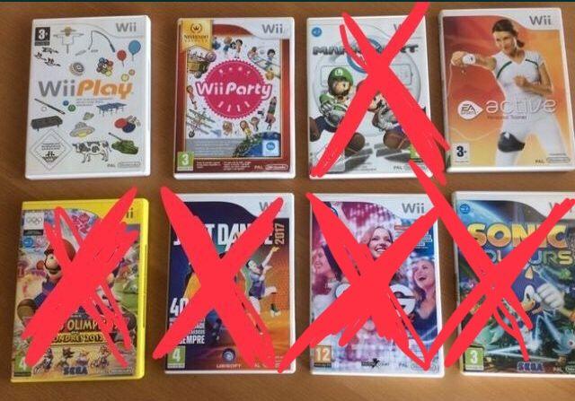 Jogos Consola Nintendo Wii - Wii Party , Just Dance , Mario Kart