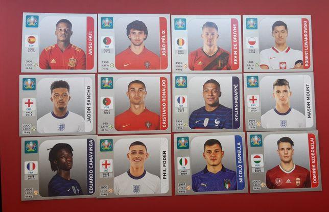 Cromos RAROS EURO 2020 Pearl Edition / Edição Pérola Panini