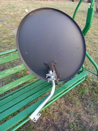 Antena satelitarna z konwekterem