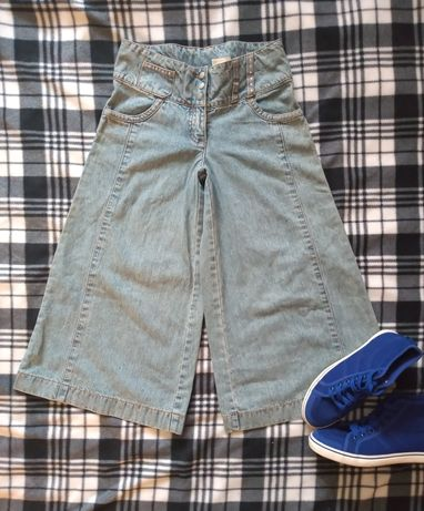 Spodnie vintage z szeroką nogawką